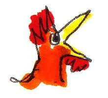 Rooster by Suzy Woodall