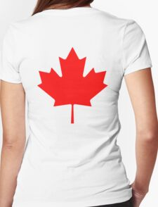 "CANADA, CANADIAN, MAPLE LEAF, Pure & Simple, Canadian Flag, National Flag of Canada, ""A Mari Usque Ad Mare"" T-Shirt"