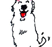 Happy Doggy by Suzy Woodall