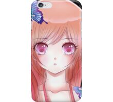 Anime drawing 4. iPhone Case/Skin