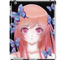Anime drawing 4. iPad Case/Skin