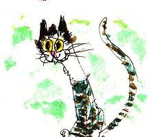 Silly Love Cat by Suzy Woodall