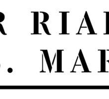 Per Rialto e S. Marco, Venice, Italian Street Sign Sticker