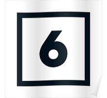 "Alphabet ""6"" Poster"