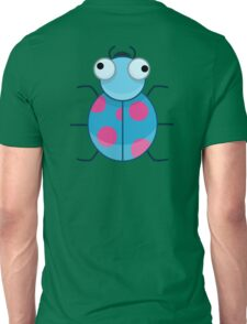 Funny Colorful Cute Little Bug Unisex T-Shirt