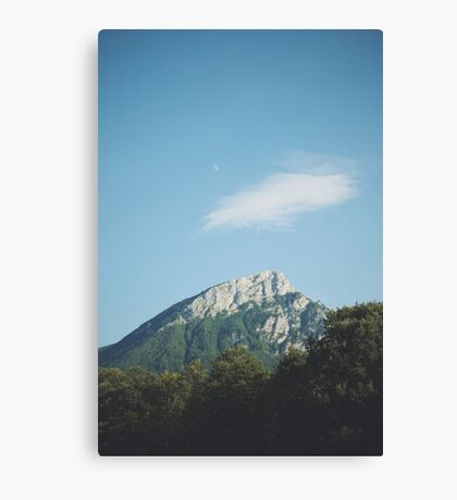 Mountains in the background VIII Canvas Print