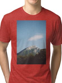 Mountains in the background VIII Tri-blend T-Shirt