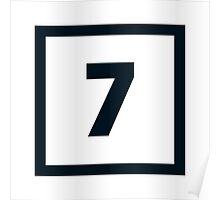 "Alphabet ""7"" Poster"