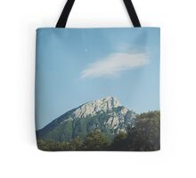 Mountains in the background VIII Tote Bag