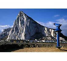A Good View of the Rock of Gibraltar Photographic Print