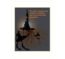 Roland's Quest Art Print