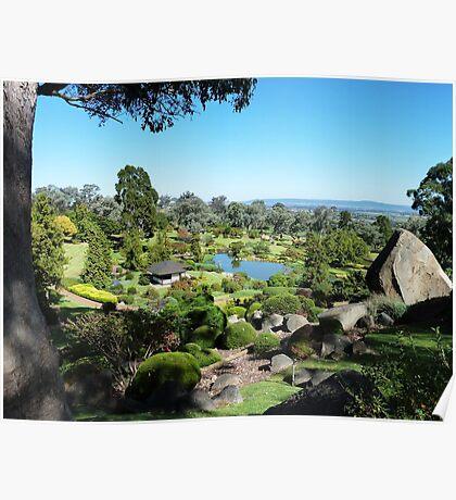 Symbolic Mountain vista, Cowra, NSW Poster