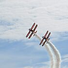 Breitling Wingwalkers at the Bournemouth Airshow 5 by Red47