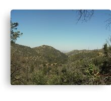 The View of Hesperia From The San Bernardino Mountains Canvas Print