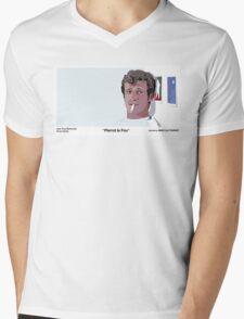 Pierrot Le Fou Mens V-Neck T-Shirt