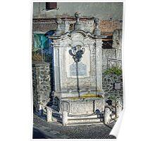Fontana delle tre cannelle, Montalto di Castro Poster