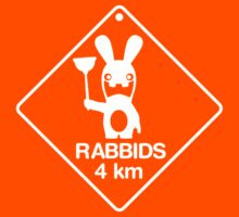 Rabbids in 4km T-Shirt