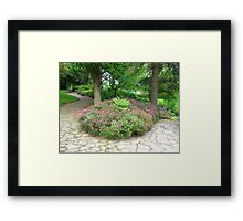 A Garden Somewhere Framed Print