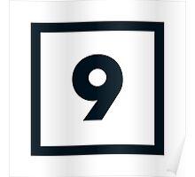 "Alphabet ""9"" Poster"