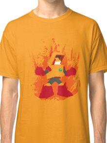 Heat Man Fiery Vector Shirt Classic T-Shirt