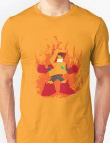 Heat Man Fiery Vector Shirt Unisex T-Shirt