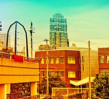 The Gold District in Minneapolis in color by susan stone