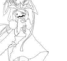 bunny anime by punkalicerose