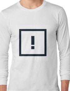 "Alphabet ""!"" Long Sleeve T-Shirt"