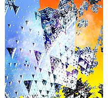 Triforce - Abstract fractal Photographic Print