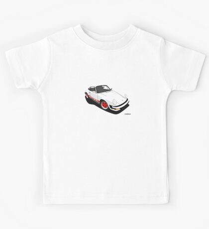 My own 911 in white Kids Tee