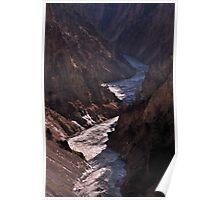 Yellowstone 2011 - Canyon  Poster