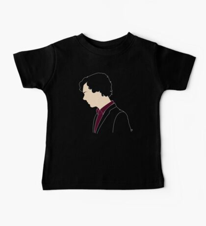 Consulting Detective (sans text) Baby Tee
