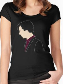 Consulting Detective (sans text) Women's Fitted Scoop T-Shirt