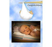 Congratulations! Photographic Print