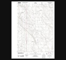 USGS Topo Map Oregon Location Butte 20110818 TM Baby Tee