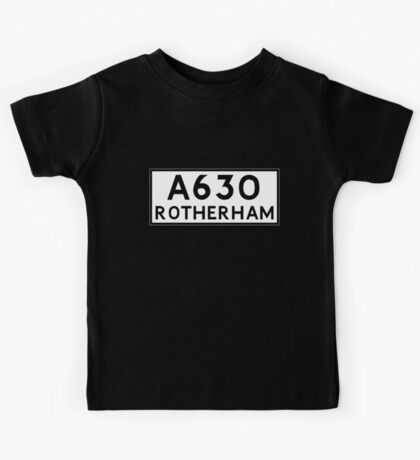 Rotherham (Old sign/ pre-Worboys style) Kids Tee