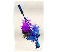 CS:GO M4A1S PURPLE Poster