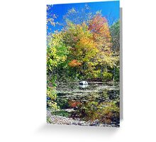 Autumn in Connecticut Greeting Card