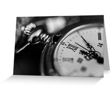 Pocket Watch, The Time is Yours Greeting Card