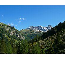 The Beautiful Alps. Photographic Print