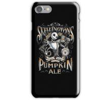 Skellingtons Pumpkin Royal Craft Ale iPhone Case/Skin