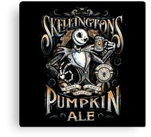 Skellingtons Pumpkin Royal Craft Ale Canvas Print
