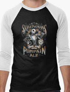 Skellingtons Pumpkin Royal Craft Ale Men's Baseball ¾ T-Shirt