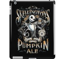 Skellingtons Pumpkin Royal Craft Ale iPad Case/Skin