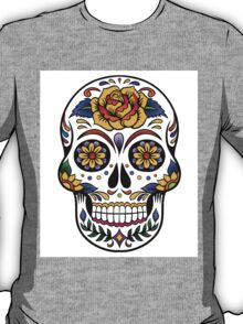 Mexican Skull art T-Shirt