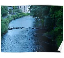 'Rapids' by the Brig-a-Doon, Ayrshire Poster