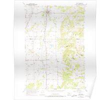 USGS Topo Map Oregon Amity 278835 1957 24000 Poster