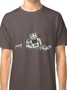 Robot Takes New York Classic T-Shirt