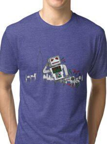 Robot Takes New York Tri-blend T-Shirt