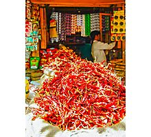Red Chilies  Photographic Print